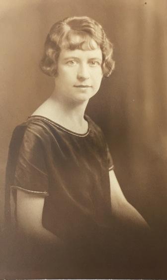 Jean Inglis 1926 as a teacher in Timmins