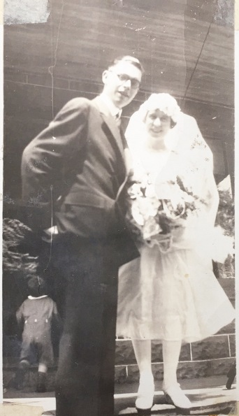 Irving Kaine and Jean Inglis Wedding Day July 21, 1926