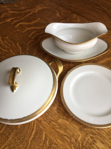 French Limoges china c 1927