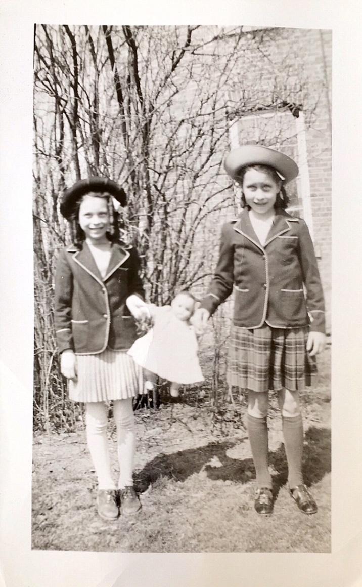 Helen and Doris Kaine 1941