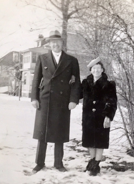 Irving and Jean circa 1945